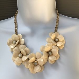 Charming Charlie Fall Floral Necklace